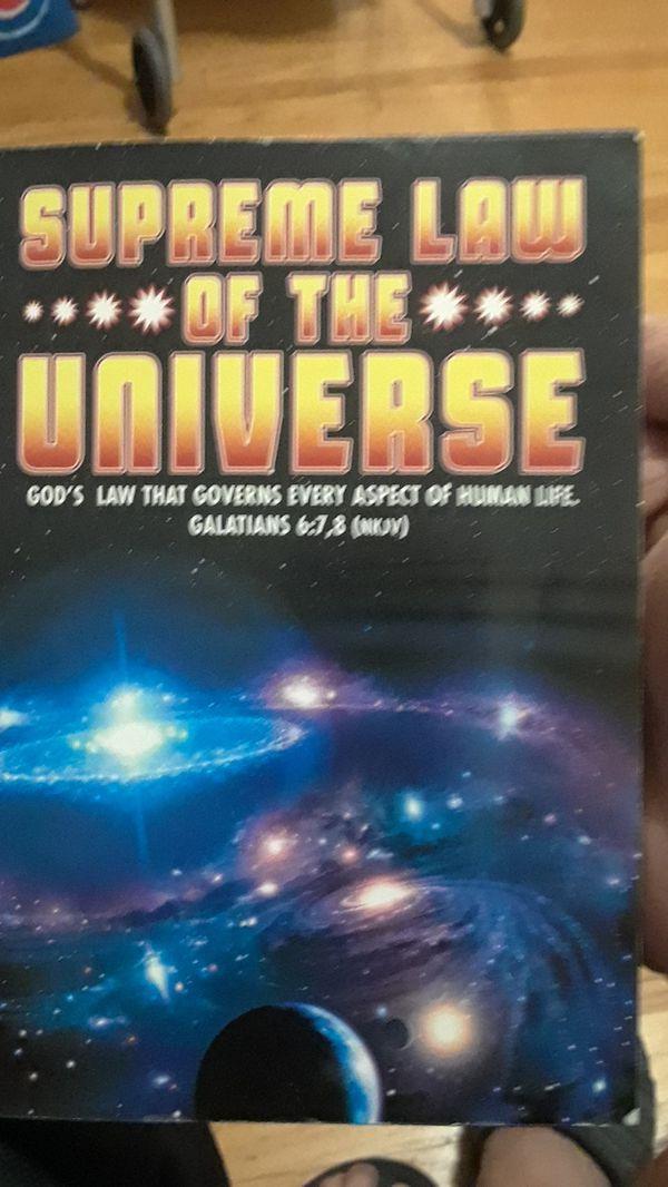 Supreme book of the universe.