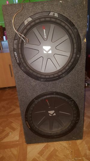 "12"" kicker Comps With 3000.1 Watt PURE Amplifier for Sale in Austin, TX"