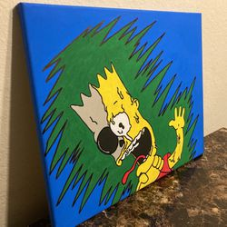 Bart Simpson Painting ! for Sale in Lehigh Acres,  FL