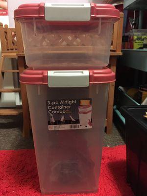 Pet food storage bins for Sale in Philadelphia, PA