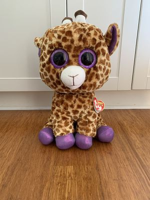 Giraffe Large Beanie Boo ty for Sale in Winter Springs, FL