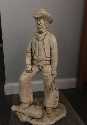 "Cowboy statue 18"" tall. for Sale in Estacada, OR"