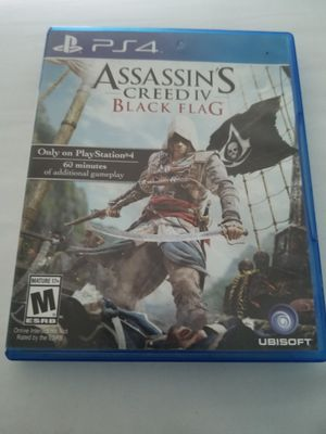 Assassins Creed IV: Black Flag (PS4) for Sale in Paint Rock, TX