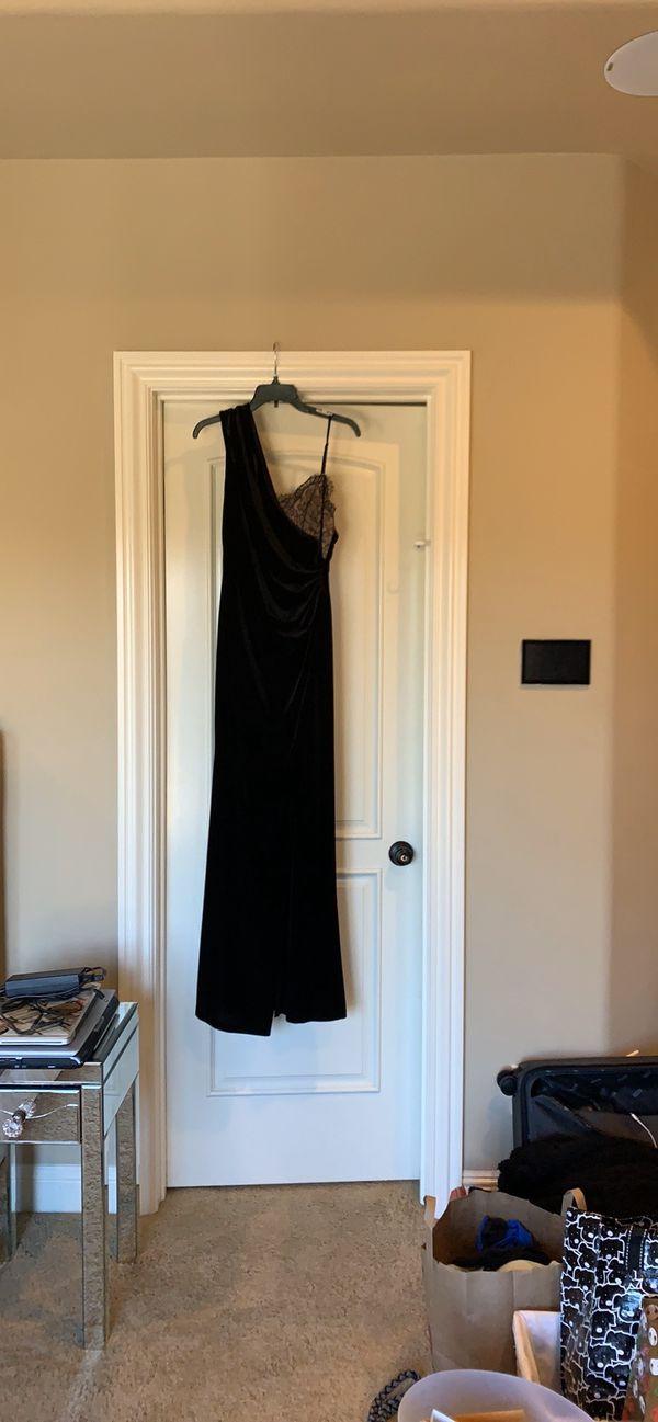 BCBG Black Gown