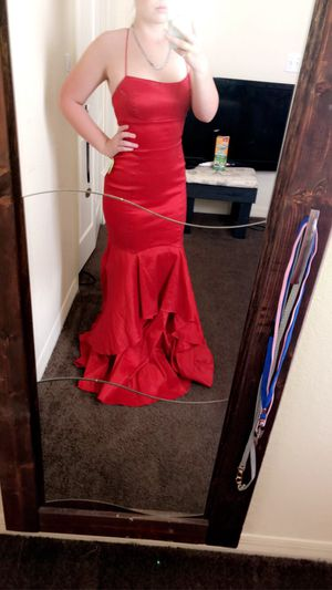 red prom dress for Sale in Bartow, FL