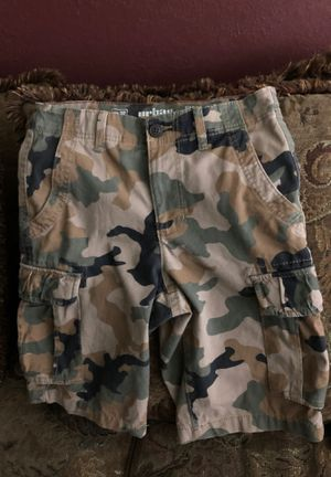 Camouflage Urban Cargo Shorts for Sale in Montclair, CA
