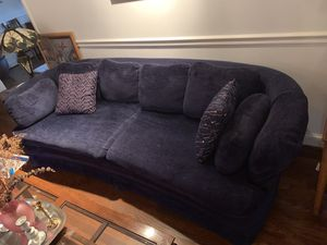 Vintage sofa and rotating chair for Sale in Potomac, MD