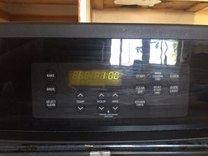 KENMORE Black Oven for sale works great from a remodel we don't need it!!! for Sale in San Diego, CA