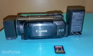 Canon VIXIA HF S200 High Definition Camcorder for Sale in Hyattsville, MD