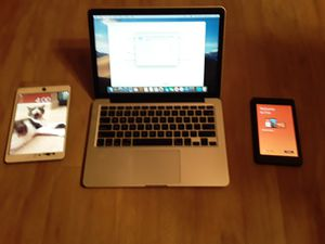 Apple mac book pro - iPad- Amazon fire for Sale in Portland, OR