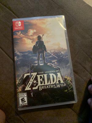 Zelda breath of the wild for Sale in Philadelphia, PA