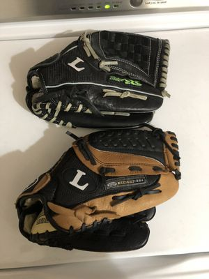 "12"" baseball gloves for Sale in Albuquerque, NM"