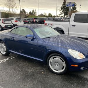 2002 Lexus SC 430 Convertible for Sale in Tacoma, WA
