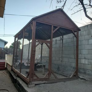 Big Cage For Birds, Chickens Roosters Or Any Animal You'd Like To Put In It! for Sale in Paso Robles, CA