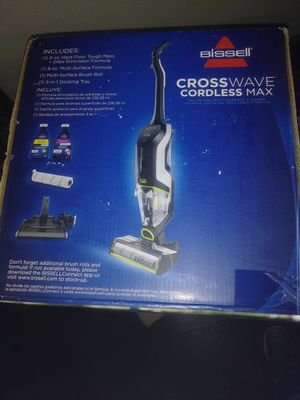 Blissell Crosswave Cordless Max Vaccum for Sale in Carmichael, CA