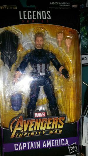 Legends Series Avengers Captain America for Sale in Mesa, AZ