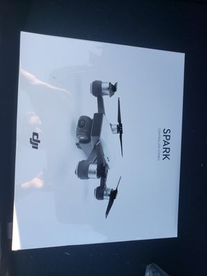 Dji Spark Drone Alpine White With Remote Control Combo for Sale in Lutz, FL