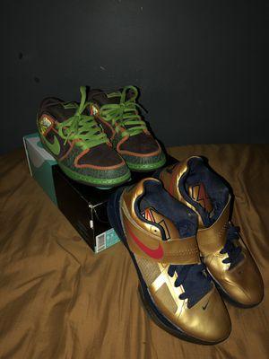 """Nike Sb """"De La Soul"""" and KD 4 """"Scoring Titles"""" for Sale in Hyattsville, MD"""