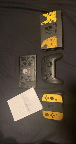 Nintendo Switch Let's Go, Pikachu Edition for Sale in New York, NY