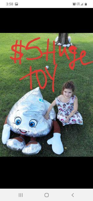 Big stuffed hershey kiss good shape for Sale in Saint Thomas, PA