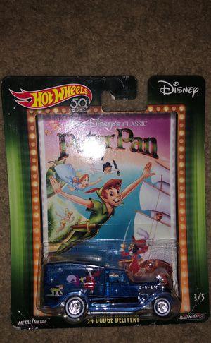 Hotwheels Disney classic Peter Pan 34 Dodge Delivery metal/metal for Sale in Austin, TX