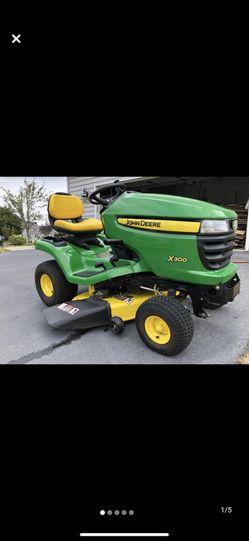 John Deere x300 w/ mulcher for Sale in Herndon,  VA