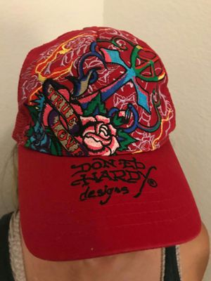 Don-Ed hardy designs hat like New for Sale in Orlando, FL