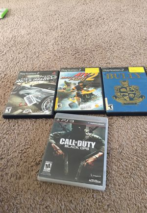 Ps2 and ps3 games for Sale in Poinciana, FL