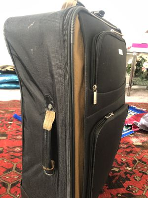 Suits case used chaps company I have four suits case 10 dollars each 2 small 2 big size 30 dollars 4 for Sale in Herndon, VA