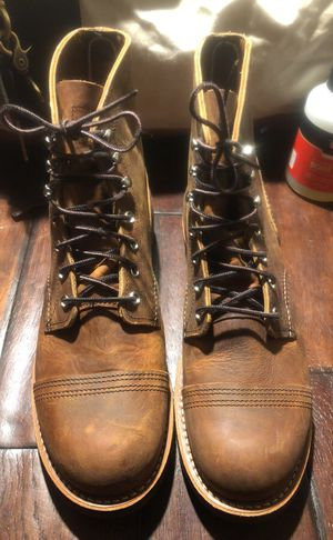 Red wing iron ranger men boots for Sale in Lawrenceville, GA