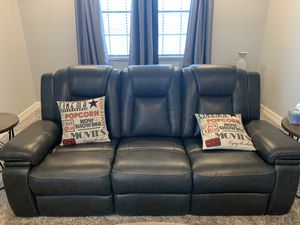 Reclining Leather Sofa and Chaise Lounge(s) for Sale in Orlando, FL