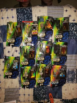 Many Star Wars Power Of The Force Action Figures/marvel trading Cards/ X-men/ Aliens for Sale in Walnut Creek, CA
