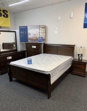 brand new modern queen bedroom set for Sale in Carrollton, TX
