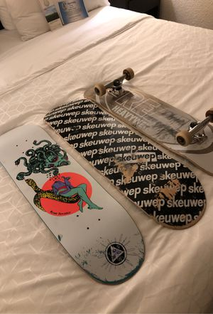 Skateboard One complete and two boards up for trade for Sale in Severn, MD