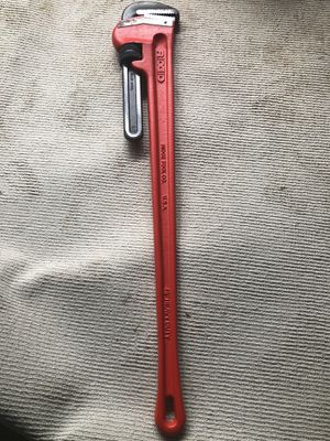 """RIDGID 31040 Heavy-Duty Straight Pipe Wrench, 48"""" for Sale in Kennesaw, GA"""