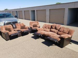 Reclining Sofa Set for Sale in Queen Creek, AZ
