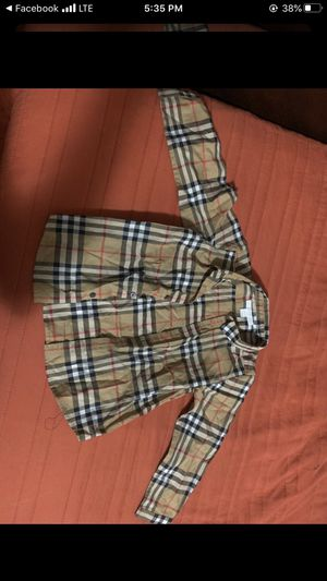 Burberry shirt for Sale in Los Angeles, CA