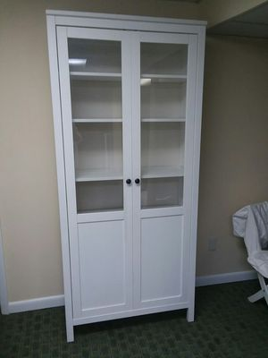 Bookcase strong with doors for Sale in Queens, NY