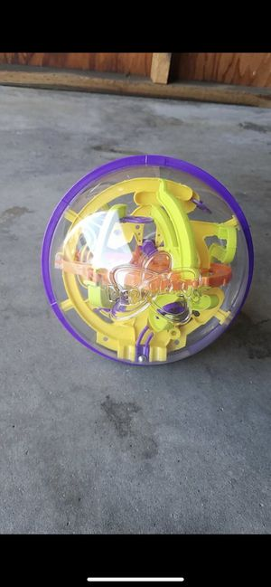 Perplexus The Original Maze Game Ball Brain Teaser Puzzle Obstacle Course for Sale in Oceanside, CA