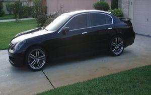 New.Tires 2003 Infiniti G35 Wheelsss - FullyLoaded/GREAT for Sale in Lincoln, NE