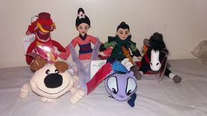 New with tags Disney Mulan complete set Beanie Babies for Sale in Westmont, IL