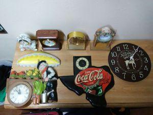 Vintage clocks for Sale in San Antonio, TX