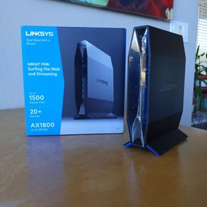 Linksys AX1800 Dual-Band WiFi 6 Router for Sale in Scottsdale, AZ