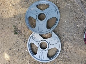 New 10lbs weider plates for Sale in Chula Vista, CA