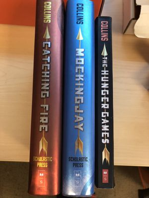 Hunger games trilogy, Mockingjay and Catching Fire are hardbacks for Sale in San Antonio, TX
