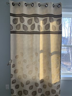 Classic embroidered window curtain for Sale in Andover, MA