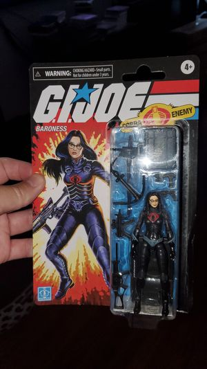 G.I.Joe retro collection Barroness for Sale in Bellflower, CA