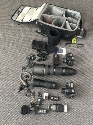 Nikon camera gear. for Sale in San Diego, CA