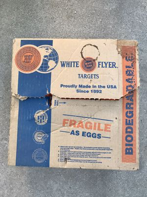 White flyers clay targets for Sale in Whittier, CA
