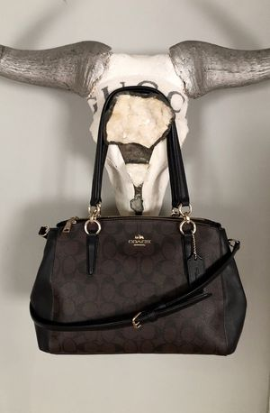 New! Coach Christie Carryall bag retail $395 Brand new without tags. 100% Authentic! Two lined outer zippered pockets, with a center open top compart for Sale in Washington, DC